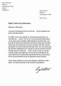 Recours Contre Banque De Mauvaise Foi : lettre de r clamation orange mod le de lettre ~ Medecine-chirurgie-esthetiques.com Avis de Voitures