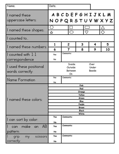 best 25 preschool checklist ideas on pre 303   7d39e3a6267a1415d50abff21cd27391 preschool portfolio portfolios for preschool
