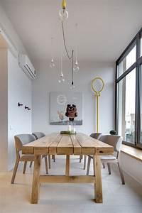 une salle a manger de style scandinave avec une petite With salle À manger contemporaine avec soldes deco scandinave