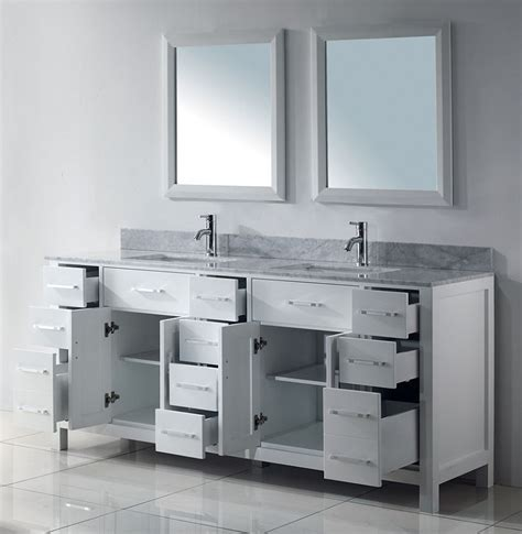 70 Wide Bathroom Vanity by 75 Inch Asta Vanity White Sink Vanity Espresso Sink Vanity