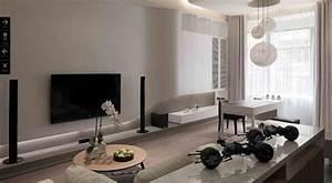 Superb all white living room ideas
