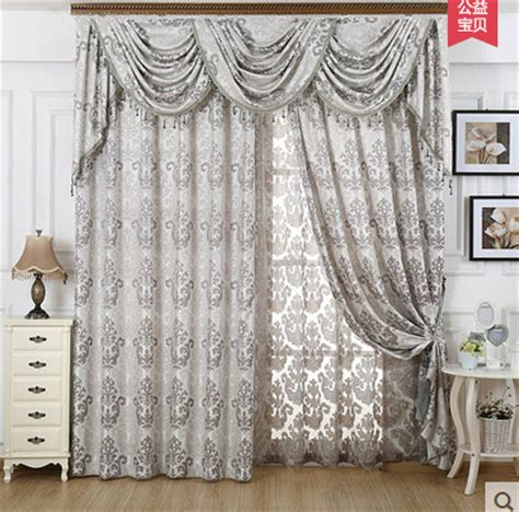 Gray Curtains With Valance by Aliexpress Buy Modern High Quality Bedroom Curtain