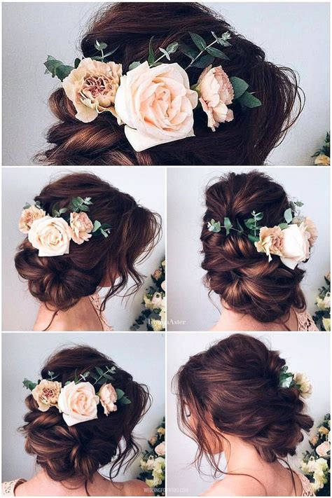 short wedding hairstyles ideas  pinterest