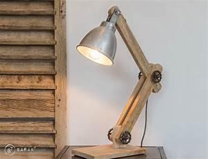 Lampe A Poser Scandinave : lampe poser industrielle scandinave genius barak 7 ~ Melissatoandfro.com Idées de Décoration