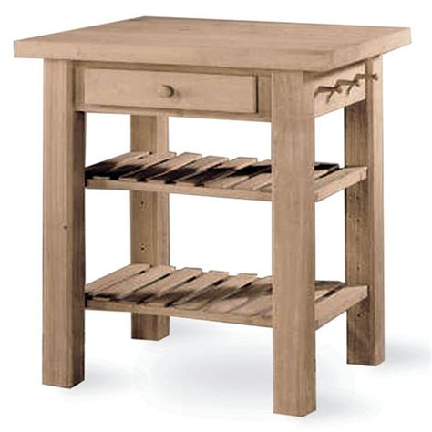 unfinished kitchen island unfinished 36 inch kitchen island with two shelves and a