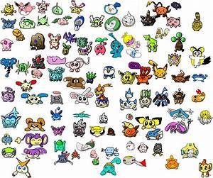 100 Flattened Pokemon