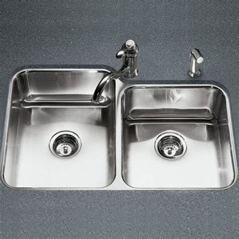 Ferguson Kohler Kitchen Sinks by K3353 Na Undertone Stainless Steel Undermount