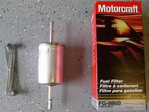 2004 - 2008 Fuel Filter Change With Pictures