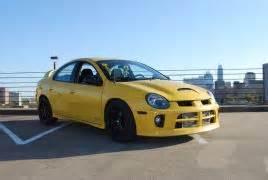 Yellow Dodge Srt4