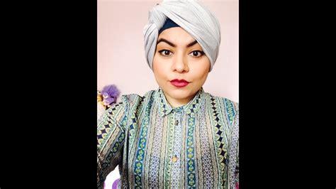 turban hijab tutorial  face zainab youtube