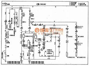 Toyota Coaster Carriage Interior Light Circuit Wiring Circuit Diagram