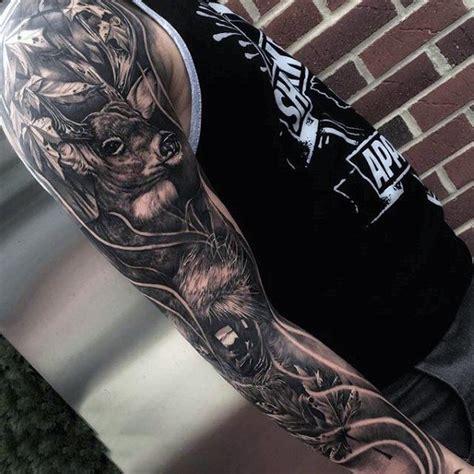 Deer Tattoos For Men Manly Outdoor Designs