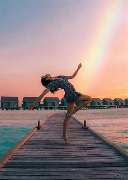 Dance Unsplash Woman Standing Dock