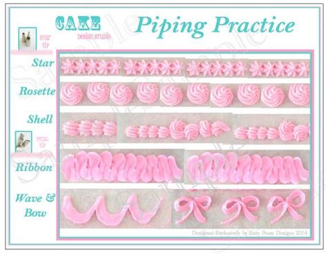 items similar  piping practice placemat printable icing