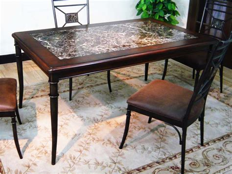 granite top dining table and how to choose the base
