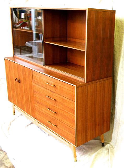 mid century cabinet mid century modern teak china cabinet by rway circa 1960