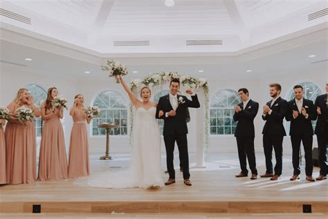 Timeless Dusty Rose and Ivory Clearwater Wedding