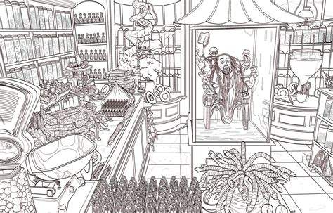 Third Harry Potter Coloring Book Dives Deep Into The