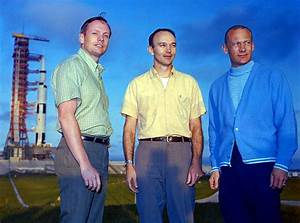 Apollo 11 crew ~ Neil Armstrong, Commander; Michael ...