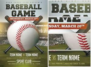 baseball flyer template 2 flyerheroes With baseball fundraiser flyer template