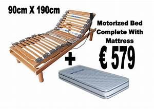90cm X 190cm Motorized Bed | Homemark