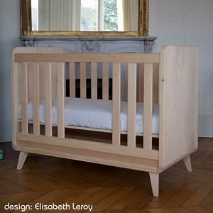 Lit Bebe Bois : le lit b b en bois massif vogue de zinezo ~ Teatrodelosmanantiales.com Idées de Décoration