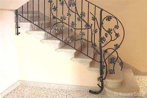 ringhiera in ferro per interni tessaro ringhiere per scale interne