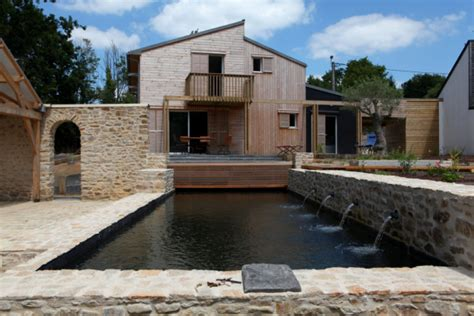 maison bois bioclimatique en bretagne par a typique patrice bideau construire tendance