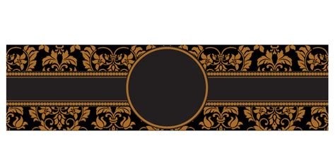 cigar label template design from template