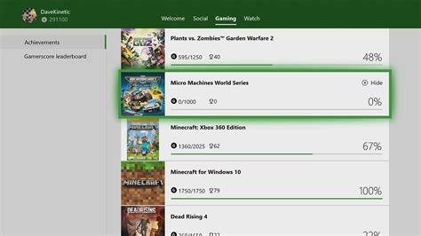 Alpha Ring Xbox Insiders Can Now Remove 0 Gamerscore Games