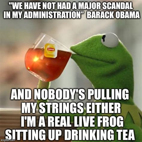 Sitting Frog Meme - but that s none of my scandal imgflip
