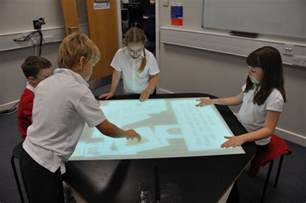 multi touch tables library display ideas pinterest