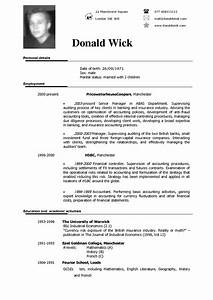 Cv template english http webdesign14com for English resume template