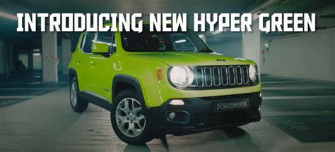 hyper green jeep halloween hyper green renegade ad is well we re not sure