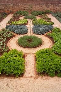 Good, Herb, Garden, Layout, Herb, Garden, With, Mulches, And, U2026