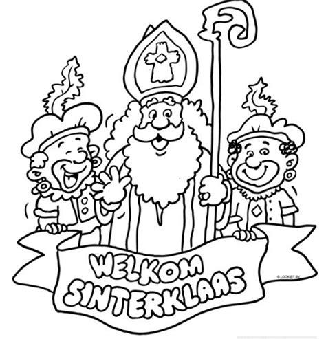 Kleurplaat Sinterklaas Moelijk by Welkom Sinterklaas Sinterklaas Sinterklaas