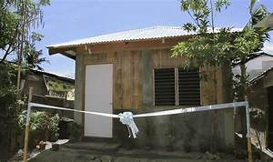 Half Cement Half Wood House Design
