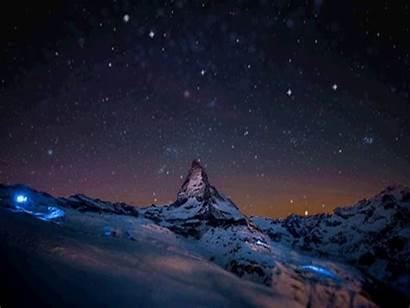 Mountain Gifs Mountains Snow Animated
