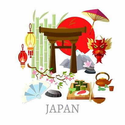 Culture Japanese Japan Clipart Welcome Illustration Tradition