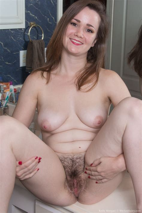 In Her Bathroom Kelly Morgan Has Her Lingerie On And