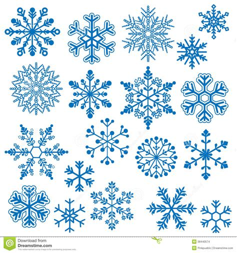 snowflake vectors stock images image