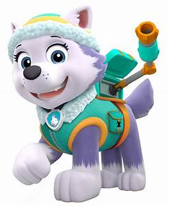 Everest, perrita Husky de La patrulla Canina Dibujos Animados Pinterest La patrulla