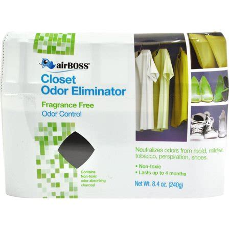 Closet Freshners by Airboss Charcoal Closet Deodorizer Walmart