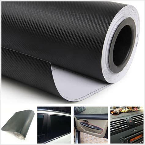 car interior carbon fiber vinyl 3d car interior accessories interior panel black carbon