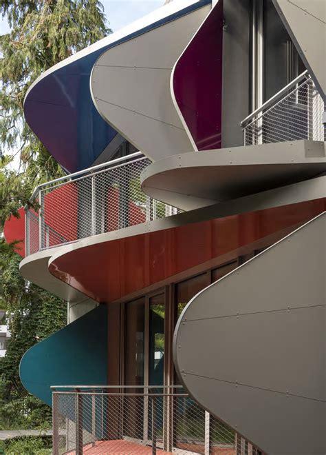Wohnhaus Bei Zuerich by Mehrfamilienhaus In Z 252 Rich Fassade Wohnen Baunetz Wissen