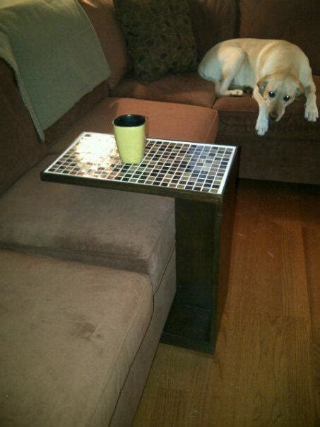 ana white rolling sofa  table diy projects