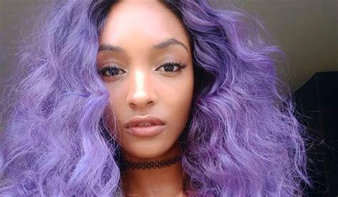 Black Hair 8 Beautiful Black Women Who Indulged In Purple
