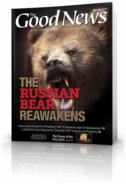 Magazine June Bible Russia Prophecy Salvation God