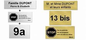 Plaque Pour Boite Aux Lettres : plaques grav es gravure voiron mill 39 et une copies ~ Dailycaller-alerts.com Idées de Décoration