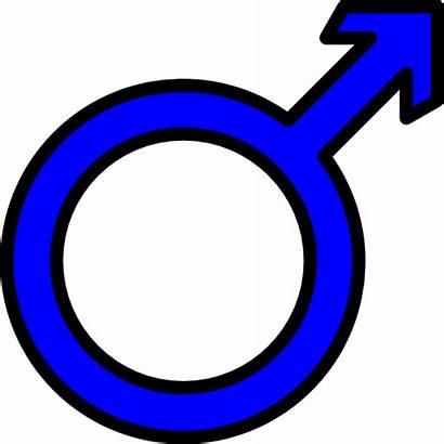 Male Clipart Clip Symbol Circle Arrow Sun